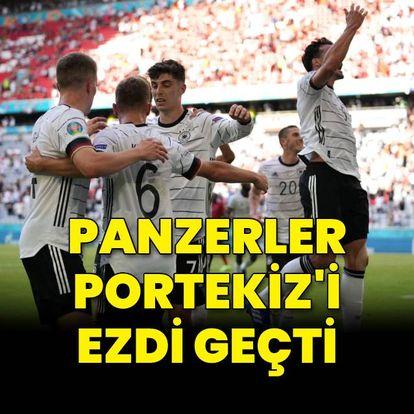 Panzerler, Portekiz'i ezdi geçti!
