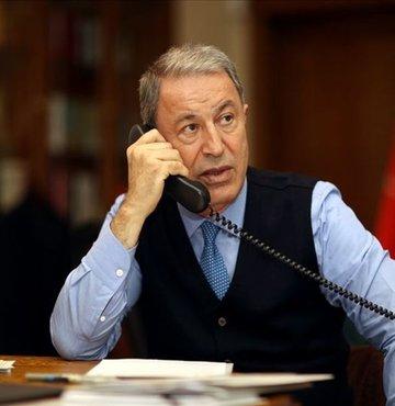Milli Savunma Bakanı Hulusi Akar, ABD Savunma Bakanı Lloyd Austin ile telefonda yaptığı görüşmesinde, NATO Zirvesi sonrası bölgesel, ikili savunma ve güvenlik konularında görüş alışverişinde bulundu