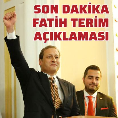 Burak Elmas'tan Fatih Terim açıklaması!