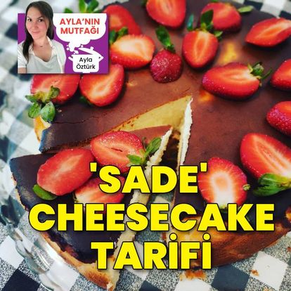 'Sade' Cheesecake tarifi