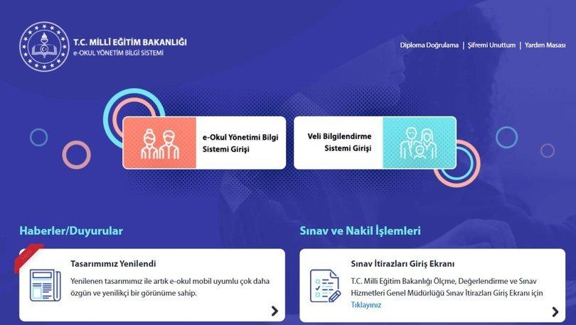 e-Okul dijital karne alma: E-OKUL KARNE GÖRÜNTÜLEME! E okul Veli Bilgilendirme Sistemi (VBS) giriş 2021