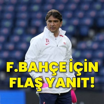 Zlatko Dalic'ten Fenerbahçe yanıtı