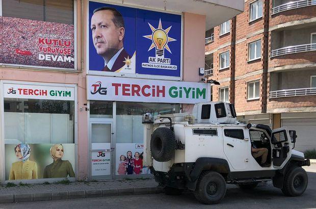 Ağrı'da AK Parti ilçe başkanlığına saldırı girişimi