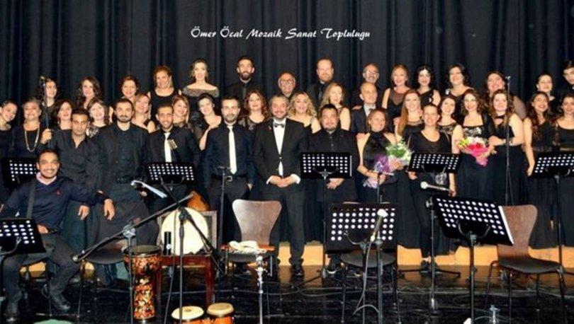 Ömer Öcal Mozaik Sanat Topluluğu'ndan 'Gökkuşağı Konseri'