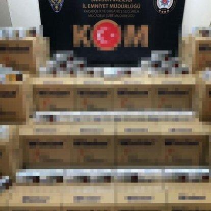 Samsun merkezli operasyonda 3 milyon 263 bin kaçak makaron ele geçirildi
