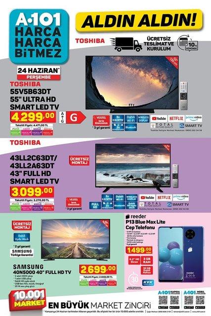 A101 BİM aktüel ürünler kataloğu! A101 BİM 22-24 Haziran aktüel kataloğu! Tüm liste yayınlandı