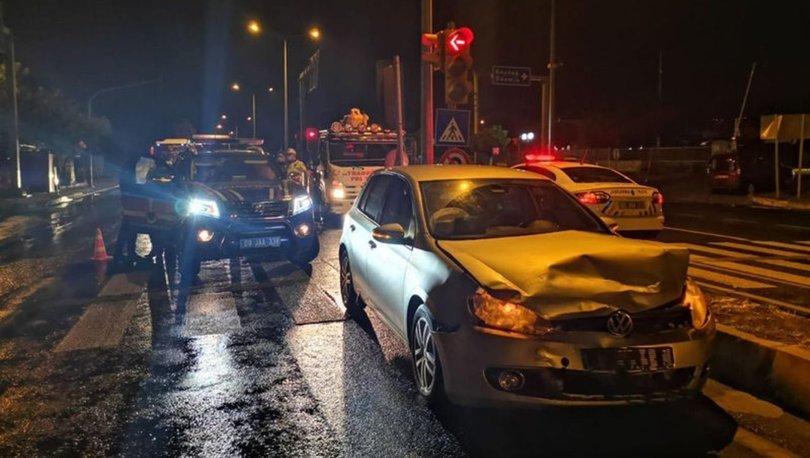 Nazilli'de jandarma otosu otomobille çarpıştı: 2'si uzman çavuş 8 yaralı