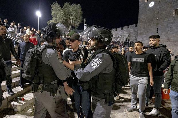 İsrail polisi Şeyh Cerrah'ta yine saldırdı
