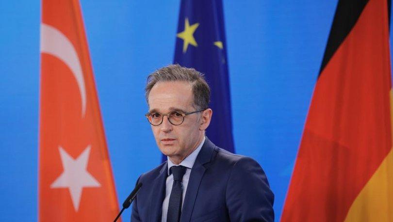 SON DAKİKA: Almanya Dışişleri Bakanı Heiko Maas, AB-Türkiye göç mutabakatının güncellenmesini istedi