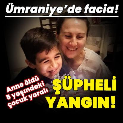 Facia! Anne öldü, 5 yaşındaki çocuk yaralı