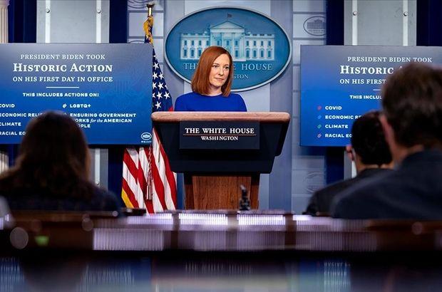 Beyaz Saray'dan Reisi açıklaması