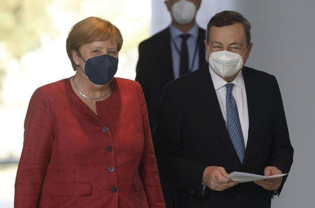 Merkel ve Draghi'den Türkiye açıklaması