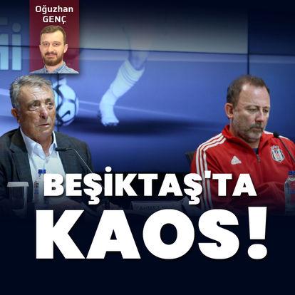 Beşiktaş'ta kaos!