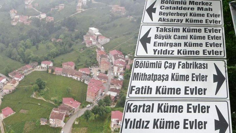 Trabzon'da tabelayı gören kendini İstanbul'da sanıyor