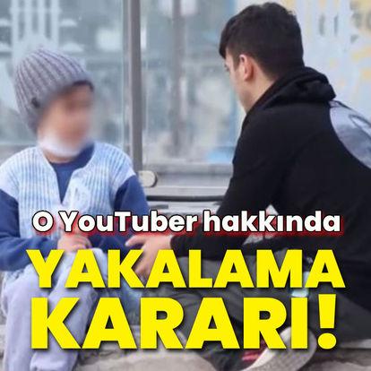 O YouTuber hakkında yakalama kararı!