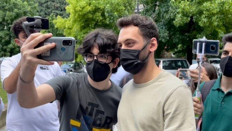 Hakan Çalhanoğlu sağlık kontrolünden geçiyor!