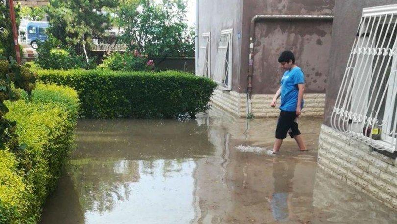 Başkentte istinat duvarı çöktü, evleri su bastı! - Haberler