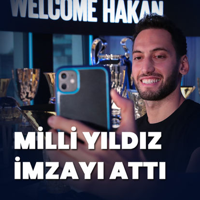 Hakan Çalhanoğlu, resmen Inter'de