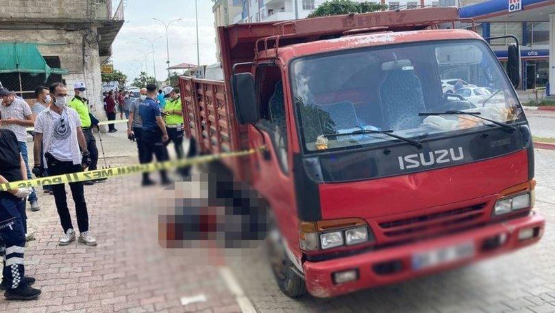 Osmaniye'de kamyonetin altında kalan kadın hayatını kaybetti