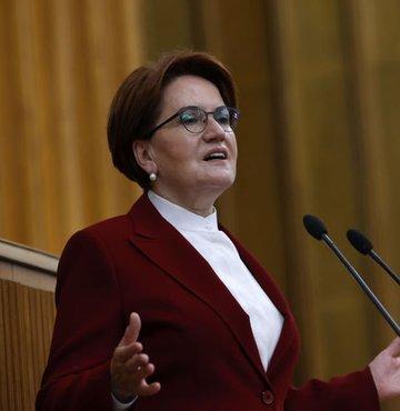 İYİ Parti lideri Meral Akşener partisinin grup toplantısında konuşuyor