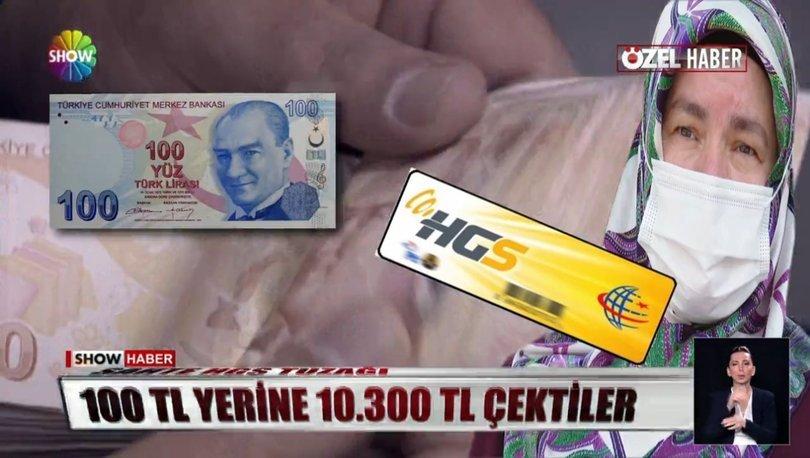 Ayşe Cömert internetten 100 TL'lik HGS yükledi ancak gelen fatura şoke etti