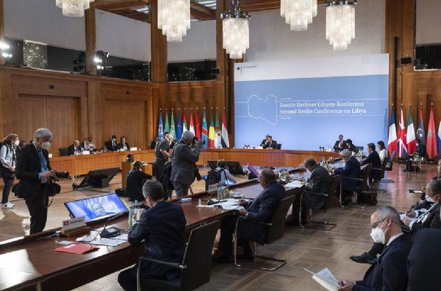 İkinci Berlin Konferansı'nda 'Libya seçimleri' vurgusu