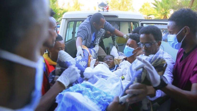 Etiyopya'da pazar yerine düzenlenen saldırıda en az 43 kişi öldü, ABD saldırıyı kınadı