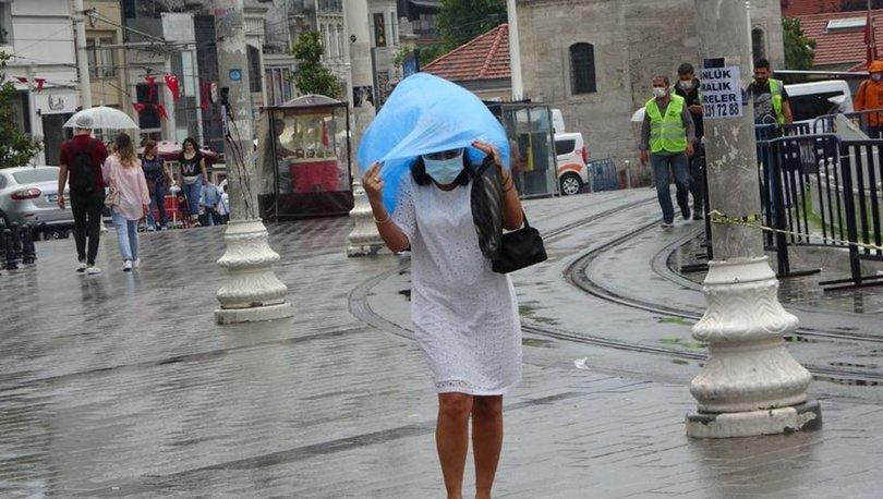 SAĞANAK! Son dakika HAVA DURUMU: 4 bölge için yağmur uyarısı - Meteoroloji