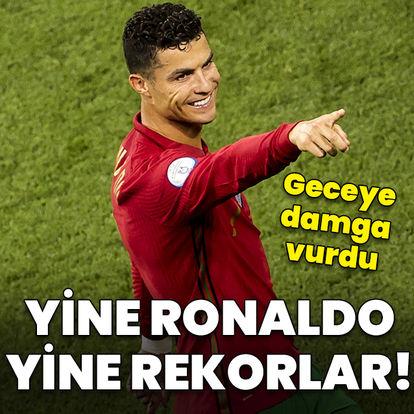 Yine Ronaldo yine rekor!