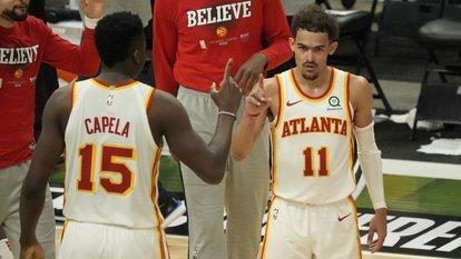 Doğu finalinde ilk maçı Hawks kazandı
