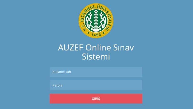 İÜ AUZEF final sınav sonuçları açıklandı! İstanbul Üniversitesi AUZEF final sonuçları sorgulama ekranı