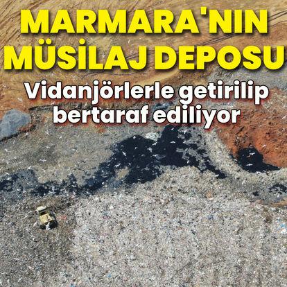 Marmara'nın müsilaj deposu