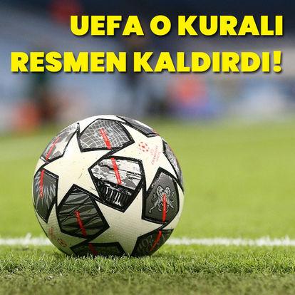 UEFA'dan flaş değişiklik! Resmen açıklandı