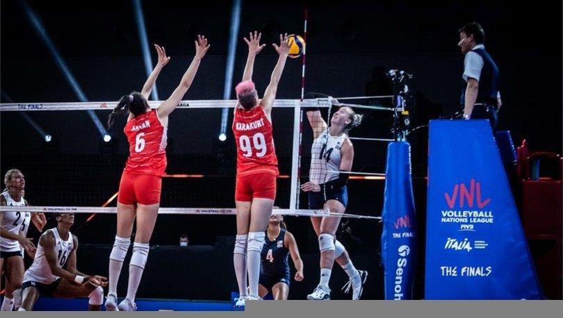 A Milli Kadın Voleybol Takımı, üçüncülük maçında yarın Japonya ile karşılaşacak