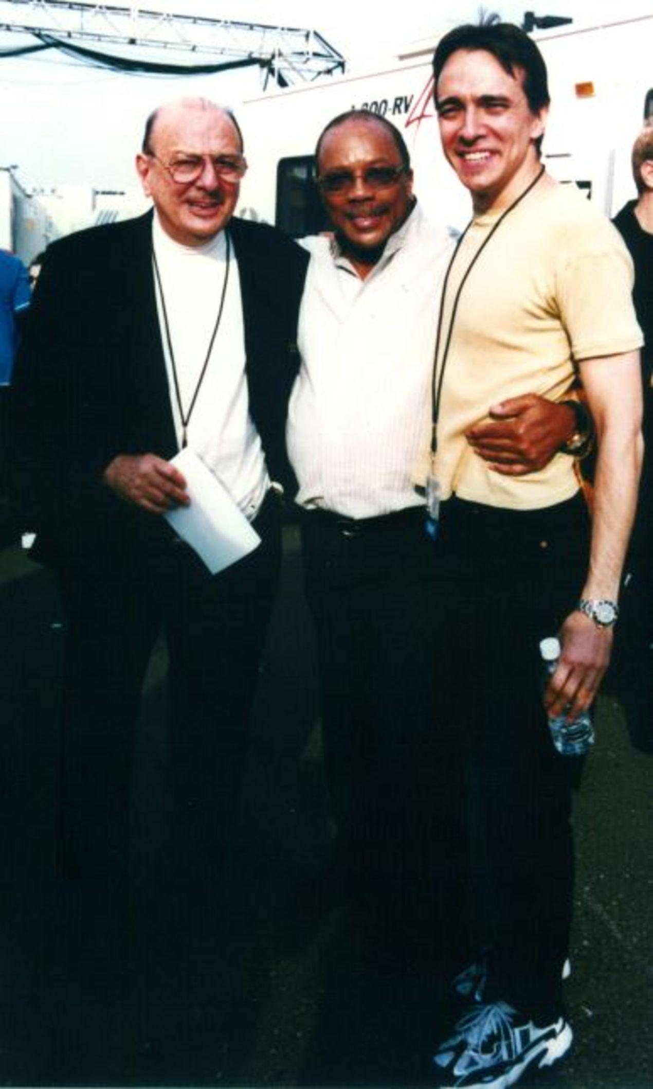 Arif Mardin, Quincy Jones
