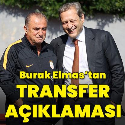 Burak Elmas'tan transfer açıklaması