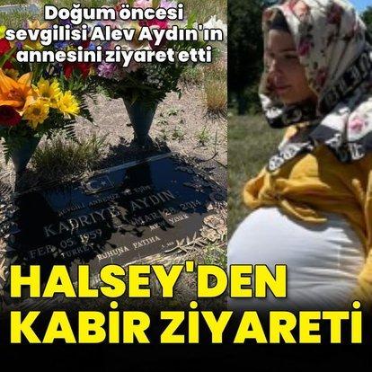 Halsey'den Kadriye Aydın'ın mezarına ziyaret
