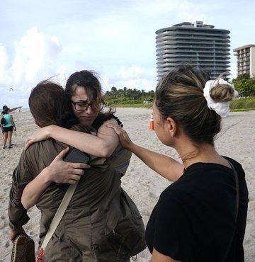 AP'nin haberine göre ABD'nin Florida eyaletinin Miami Dade bölgesinde, 12 katlı binanın kısmen çökmesinin ardından 159 kişiden haber alınamıyor. Enkazda kayıpların arasında dünyanın dört bir yanından insanlar bulunuyor.