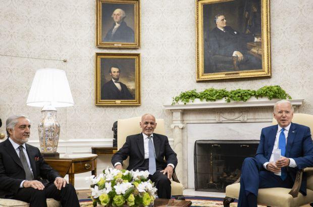 ABD Başkanı Biden, Beyaz Saray'da Afgan liderler ile bir araya geldi