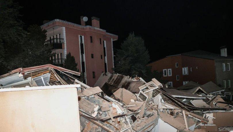 FACİADAN DÖNÜLDÜ! Son dakika... Sarıyer'de önceden boşaltılan 11 katlı bina çöktü