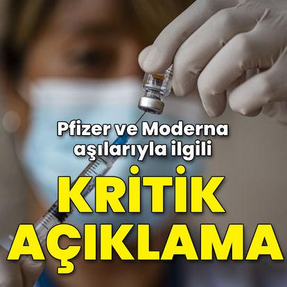 Pfizer ve Moderna aşılarıyla ilgili kritik araştırma