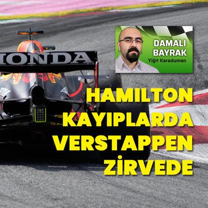 Hamilton kayıplarda, Verstappen zirvede