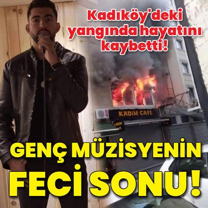 İstanbul'da 4 katlı binada kahreden yangın!