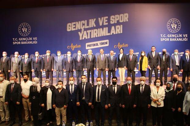 Gençlik ve Spor Bakanlığından Aydın'a yatırım