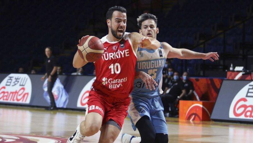 Uruguay - Türkiye: 86-95 MAÇ SONUCU