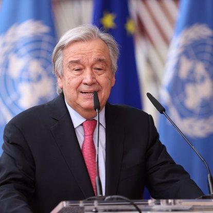 BM Genel Sekreteri, ABD'ye İran yaptırımlarının kaldırması için çağrıda bulundu