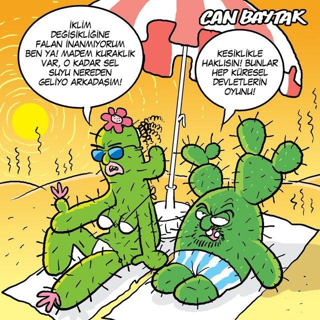 Can Baytak karikatürleri (Temmuz 2021)