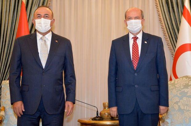 Çavuşoğlu'ndan KKTC'de açıklamalar!