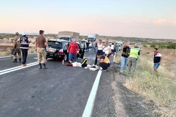 Mardin'de kaza! Yaralılar var