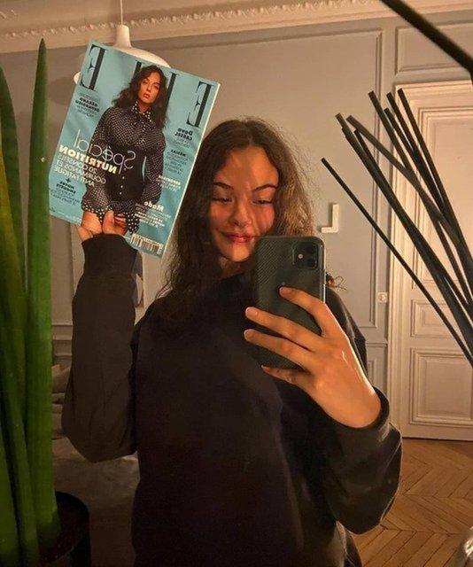Monica Bellucci ile Vincent Cassel'in kızı Deva Cassel annesinin izinden gidiyor - Magazin haberleri